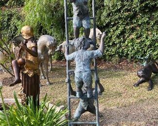 Bronze kids ladder