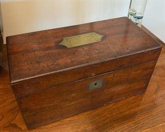 Antique Box, Recessed Handle