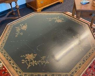 Octagonal Pedestal Table