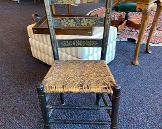 Antique Painted Chair
