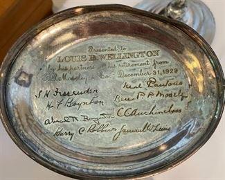 Vintage Silverplated Loving Cup