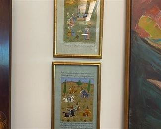 Antique Middle Eastern Paintings
