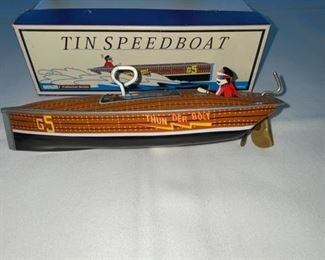 Tin Speed Boat