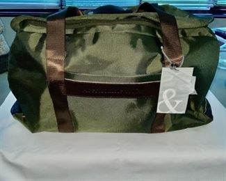 Abercrombie & Kent Duffle - New with Tags