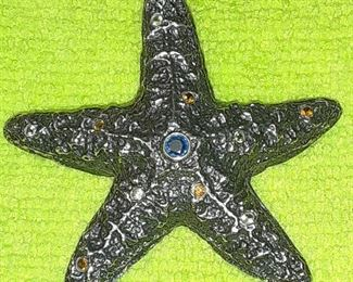 https://www.ebay.com/itm/124776556541ME3099 MIGNON FAGET STERLING SILVER STARFISH PIN ( BROUCH)Auction