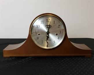 Antique Hamilton Greenfield Manor Wind Up Mantel Clock with Franz Hermle Movement