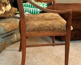 """Dillingham Style Dinning Chair-20.75"""" Wide X 18"""" Deep X 41"""" High. 19"""" Seat Height"""