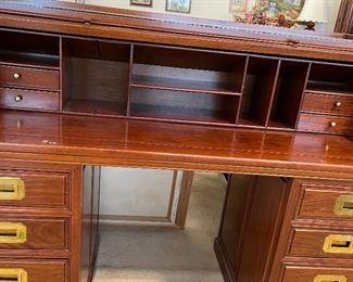 Rosewood Rolltop Desk
