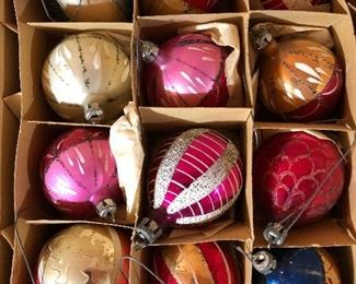 Vintage Christmas ornaments......