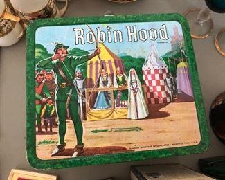 Vintage Robin Hood lunchbox.....