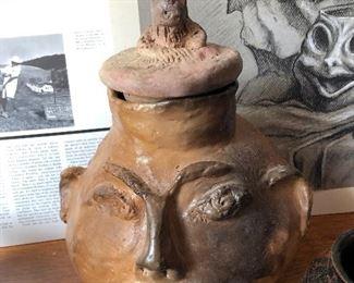 Georgia Blizzard Ceramic Folk Art