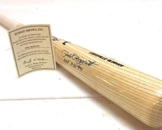 PHIL RIZZUTO HALL OF FAME AUTOGRAPHED