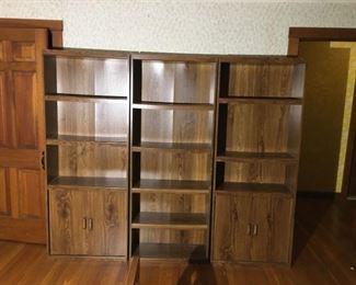 3 Book Cases