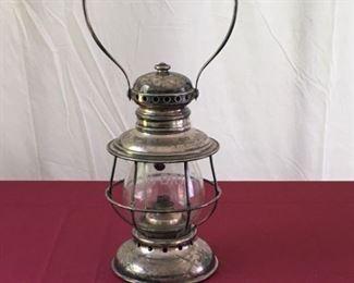 Adams and Westlake Company Railroad Lantern