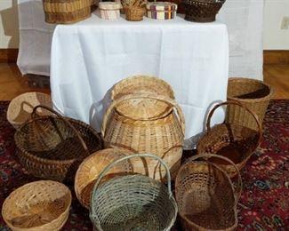 A Tisket A Tasket... A Lot of Many Baskets