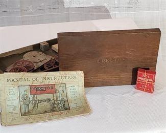 Antique Erector Set No IV