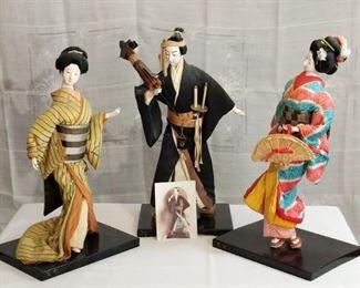 Kajoko Sessler Japanese Figurines
