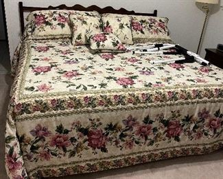 king bed with memory foam mattress