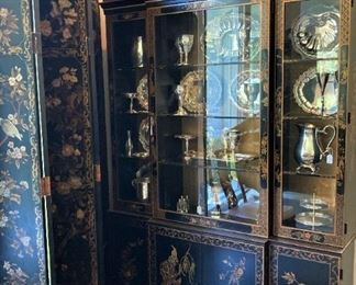 Exceptional Asian style china cabinet