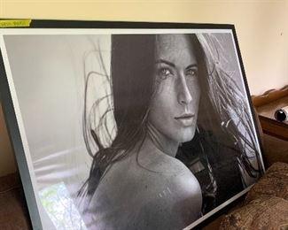 Large Framed Orginal Photo