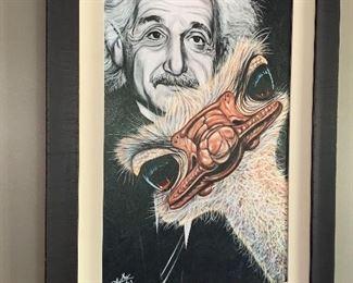 "Original Art ""Bird Brain"""