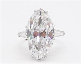 10.7 Ct Solitaire Diamond GIA Certificate