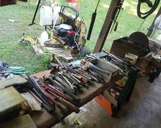 A small glimpse of our tools.