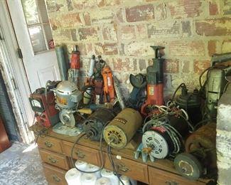 Look more tools and motors.