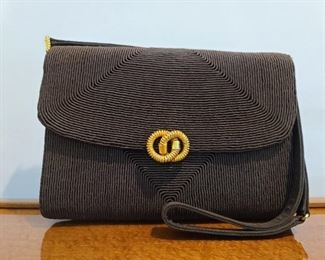Favre Brown Rope Clutch