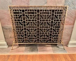 Horchow Collection fire screen