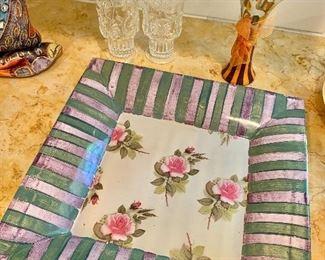 McKenzie Childs platter
