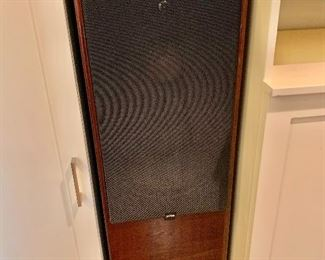Pair of Canton CT2000 Tower speakers.  Piano gloss mahogany cabinets.