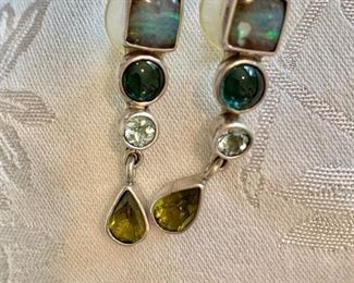 Sterling drop earrings by The Dreamer