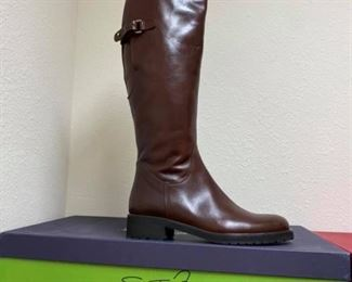 Sestl Meucci Brown Riding Boots NEW!! Size 8