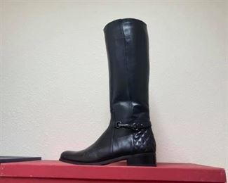 Vaneli Regil Black Riding Boots Worn a handful of times, excellent condition.  Size 8