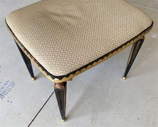 Black Gold Bench