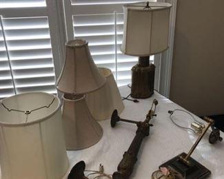 Brass Toned Lighting