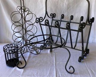 Decorative Metal Holders