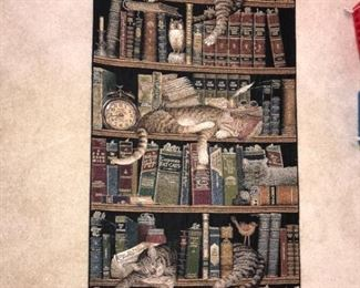 Fine Art Tapestries Cat Wall Tapestry