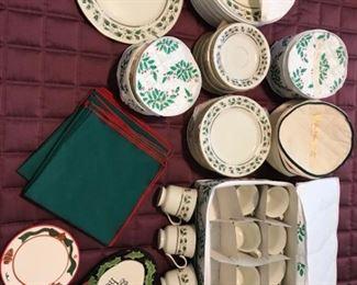 Royal Limited Holly Holiday China