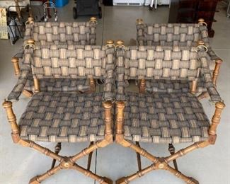 Set of Four Director Style Chairs