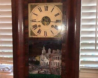 Antique clock (working)