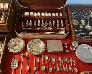 Sterling Silver Items & Francis I