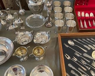 Sterling Silver Items - Sterling Mint Julep Cups