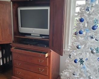 TV Armoire and TV