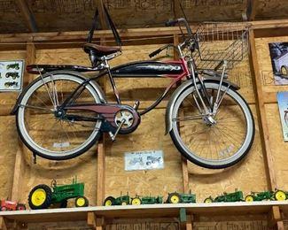 Vintage western flyer bicycle