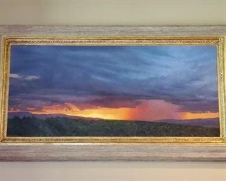 """""""Odyssey"""" 26 x 58 oil by Marcia Molnar"""