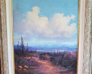 Oil on canvas by Caroll Forseth