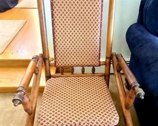1 of 2 Antique rocking chair