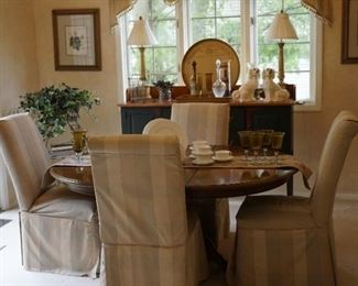 Ethan Allen Dining Table & 4 Chairs